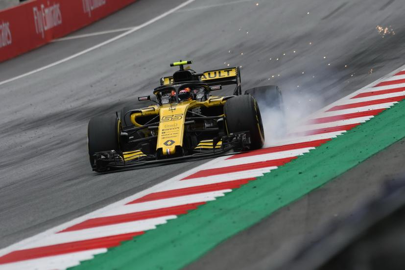 Resultado de imagen de Carlos Sainz F1 Austria 2018