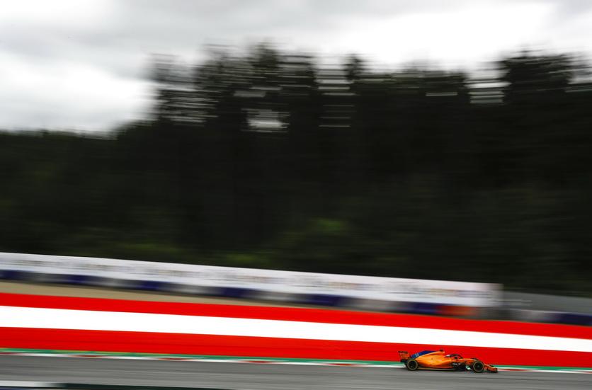 GP de Austria: Alonso se clasificó en las últimas posiciones