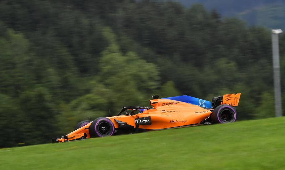GP de Austria: Alonso partirá 13º el domingo en carrera