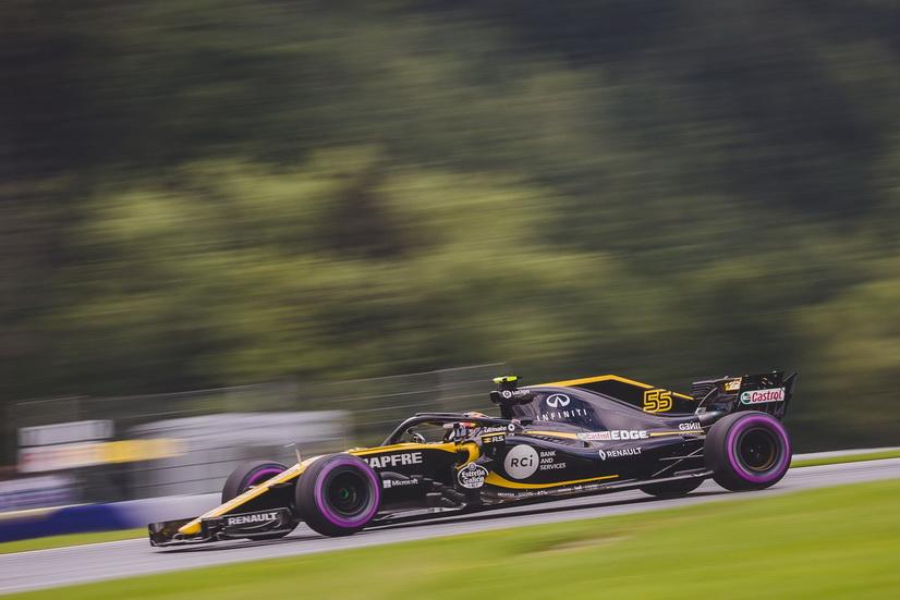GP de Austria: Sainz volvió a entrar en la Q3, 9 de 9