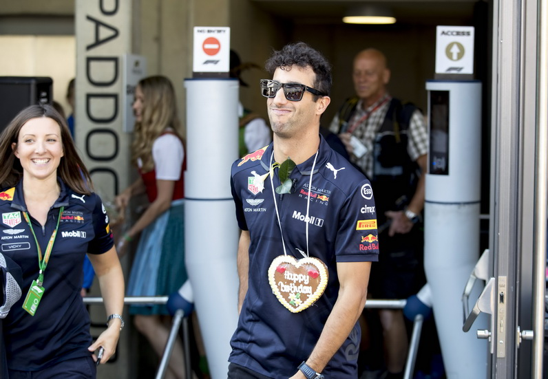 GP de Austria: ¡feliz cumpleaños, Daniel Ricciardo!