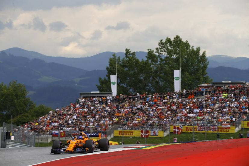 GP de Austria: impresionante remontada de Alonso: del pit lane al 8º lugar