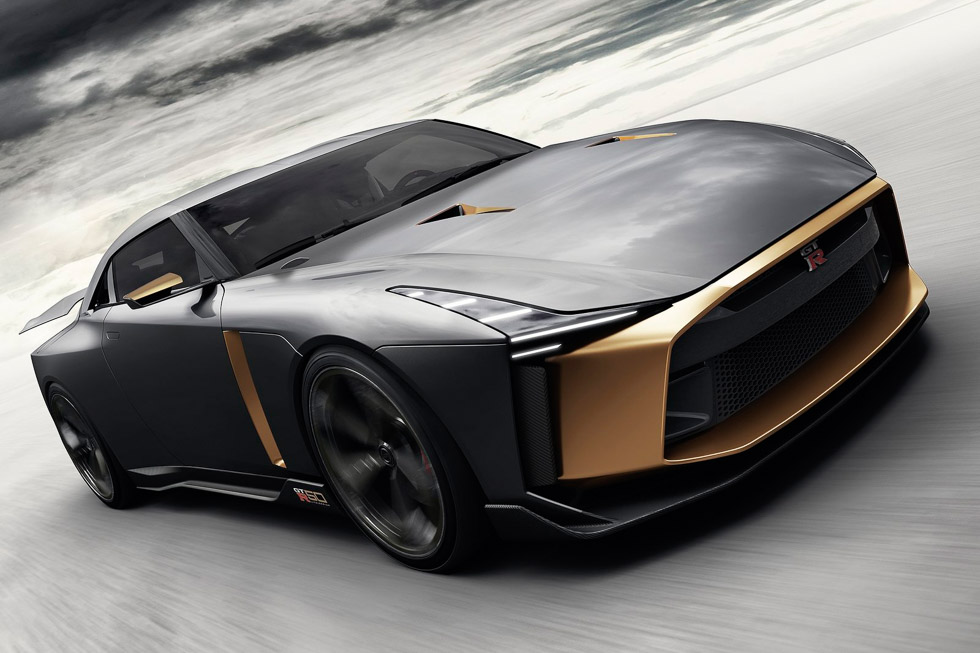 "Nissan GT-R 50th by Italdesing: el GT-R ""no limits"""