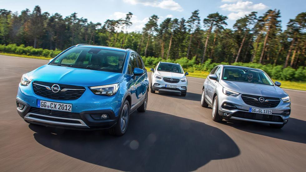 Opel Mokka X, Crossland X y Grandland X: nuevos motores para los SUV