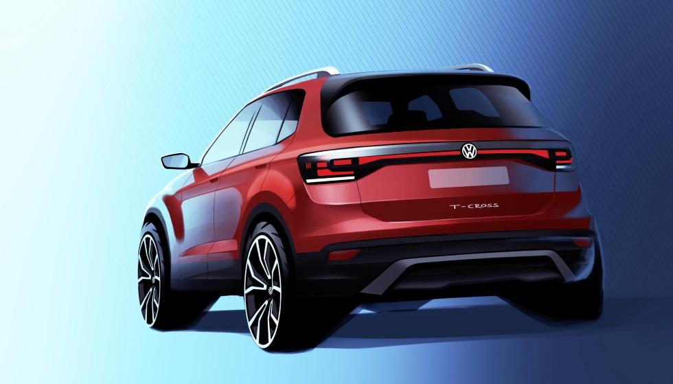 VW T-Cross: más datos y fotos del nuevo SUV de la marca