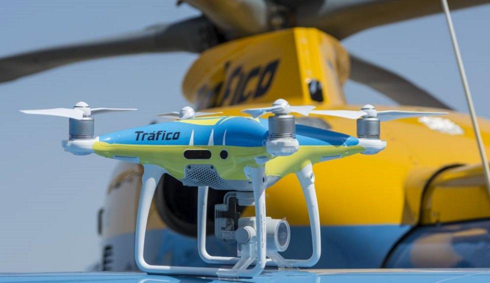 Los cinco drones de Tráfico no pueden multarnos