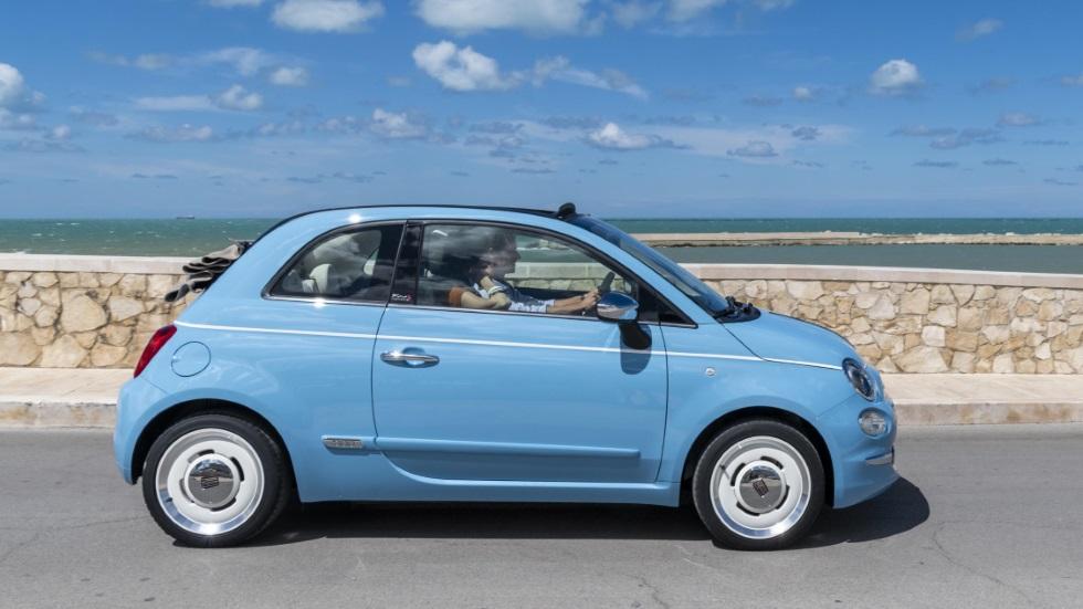 """El Fiat 500 cumple años y se regala una serie especial: """"Spiaggina '58"""""""