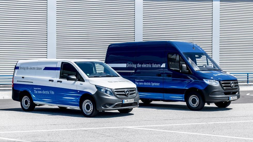 Mercedes Benz apuesta por los eléctricos: nuevas eVito y eSprinter