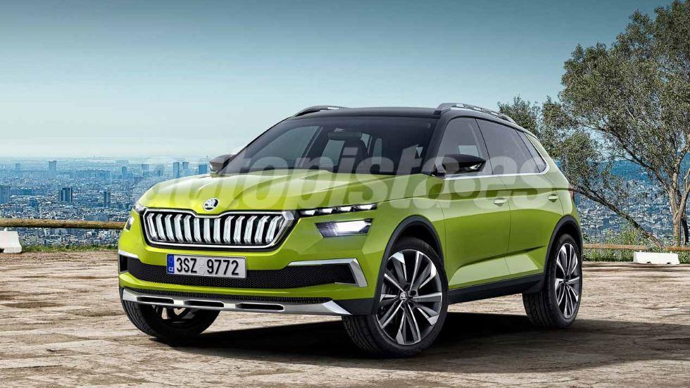 """Skoda SUV 2019: el """"Seat Arona"""" checo, listo para el año que viene"""