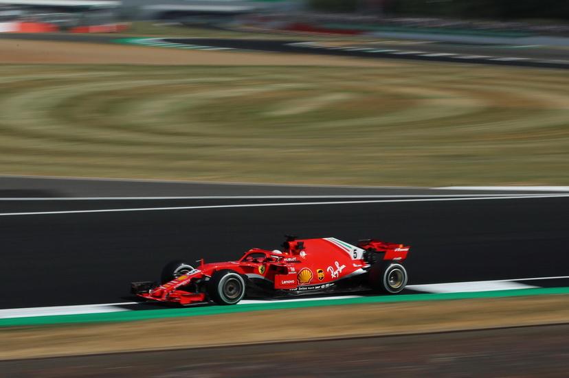 GP de Gran Bretaña (FP2): Sebastian Vettel fue el más rápido