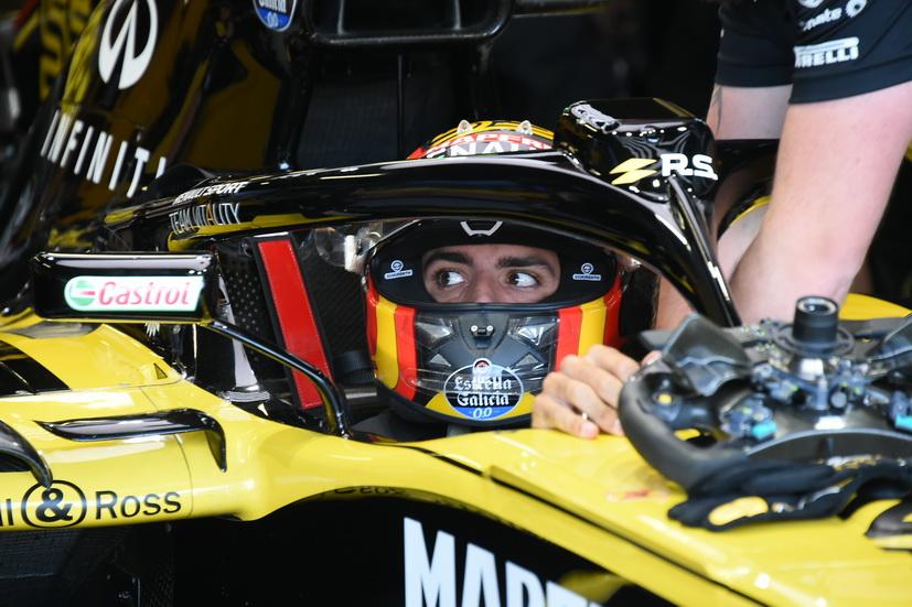 GP de Gran Bretaña: Sainz, undécimo por la tarde