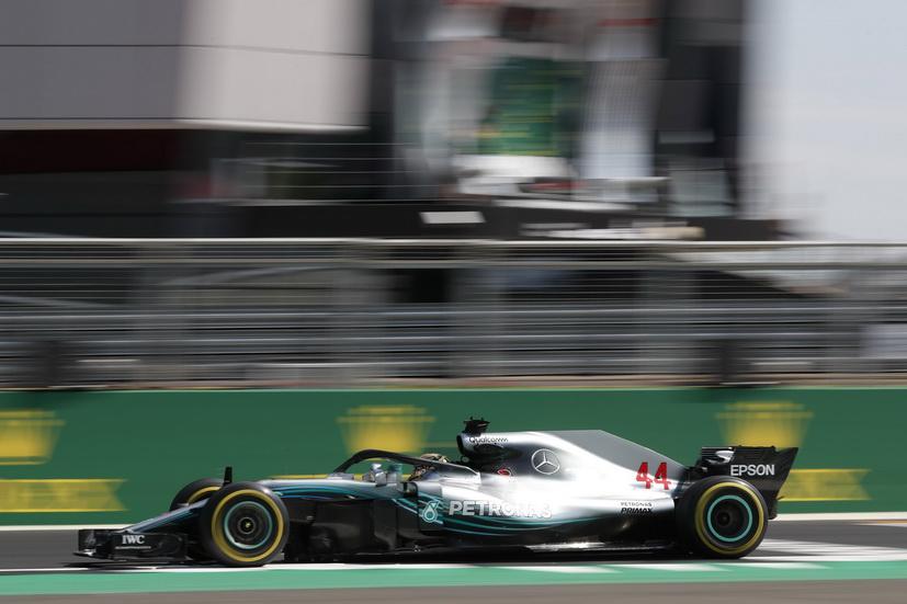 GP de Gran Bretaña (FP3): Hamilton volvió a ser el más rápido