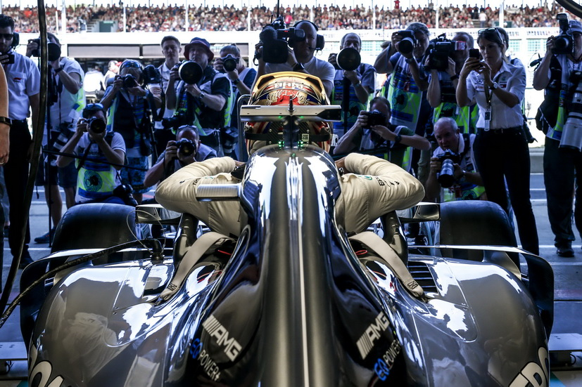 GP de Gran Bretaña: Hamilton bate el récord de Silverstone