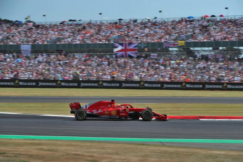 GP de Gran Bretaña: impresionante victoria de Sebastian Vettel