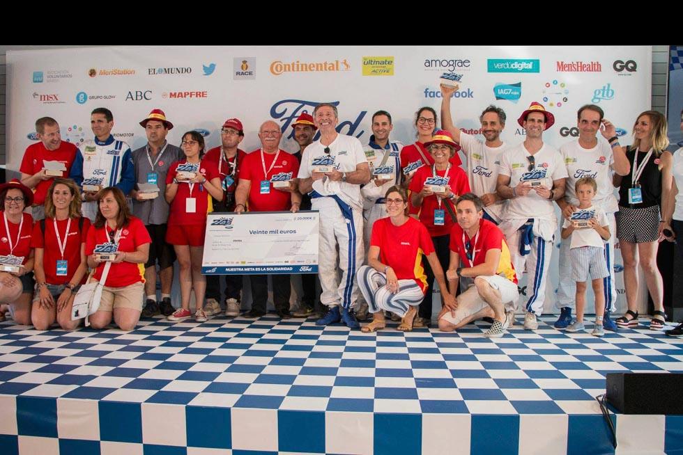 24 horas Ford 2018: el equipo de Autopista.es, más competitivo y solidario que nunca