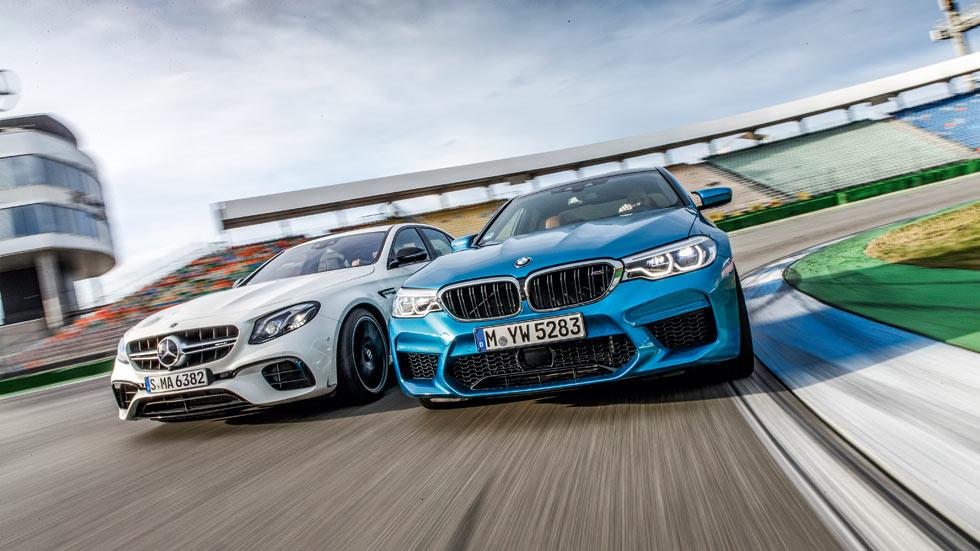 """BMW M5 vs Mercedes-AMG E63: a prueba dos deportivos """"exagerados"""""""