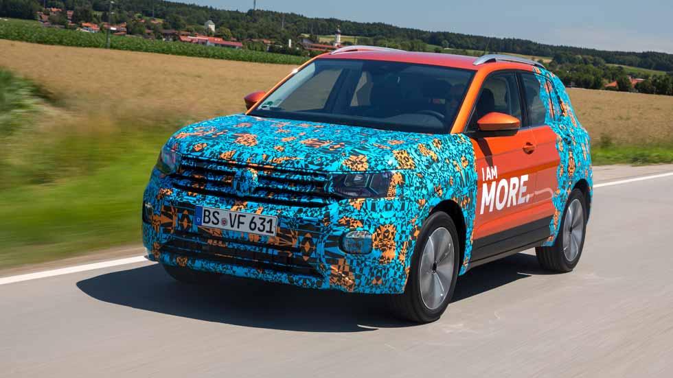 """Volkswagen T-Cross: a prueba el """"Seat Arona alemán"""""""