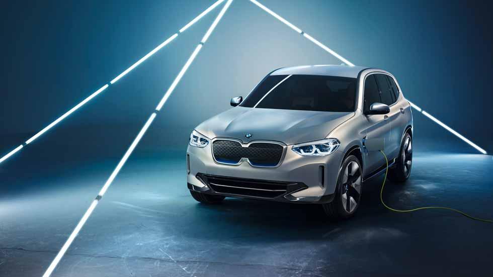 BMW iX3 2020: nuevos datos y fotos del X3 eléctrico