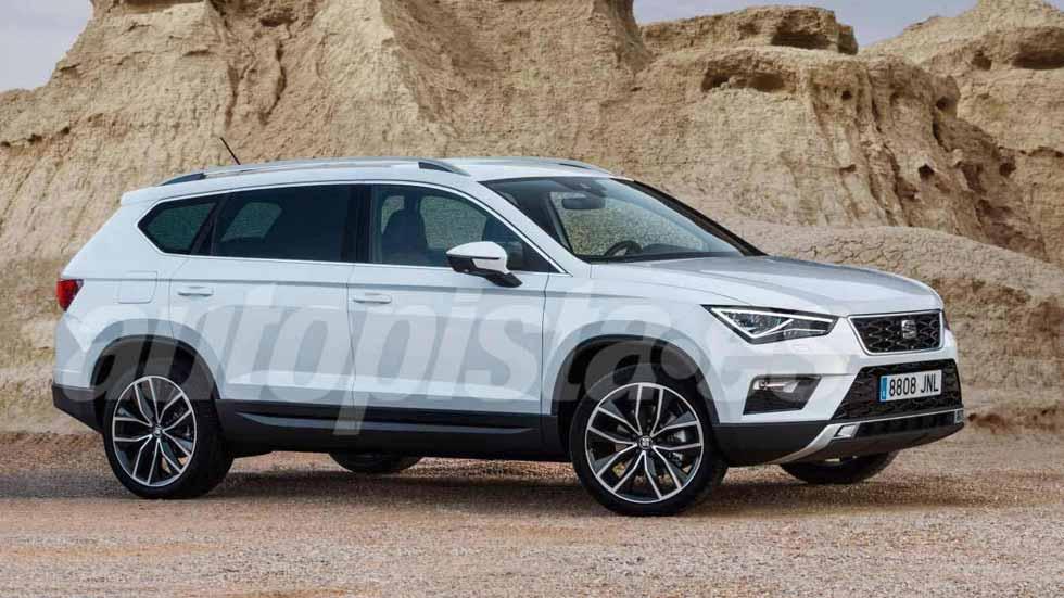 Seat Tarraco 2019: el nuevo gran SUV, ya en fase de pruebas (Vídeo)
