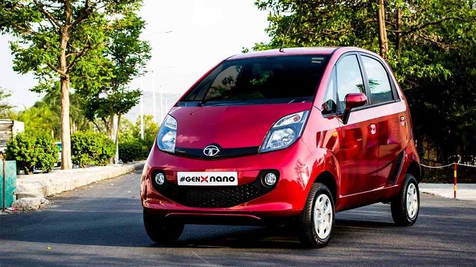El coche más barato del mundo, el Tata Nano, dejará de fabricarse