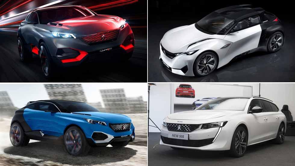 Todo lo nuevo de Peugeot hasta 2020: 208, 308, 4008, 508 SW…