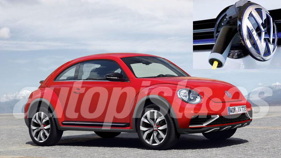 El Volkswagen Beetle del futuro podría ser eléctrico: primeros datos