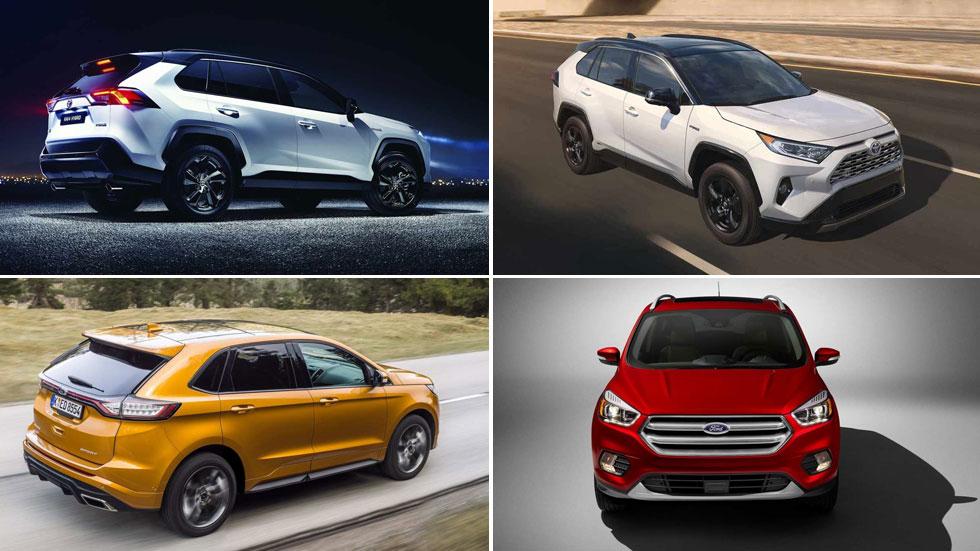 Ford Kuga vs Toyota RAV4: el nuevo gran duelo SUV de 2019