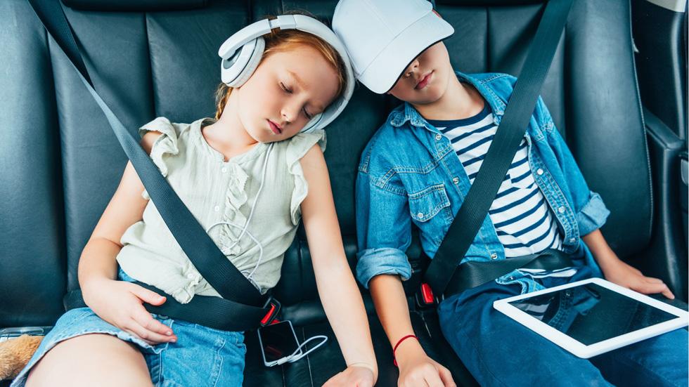 Cómo influyen los niños en los viajes en coche