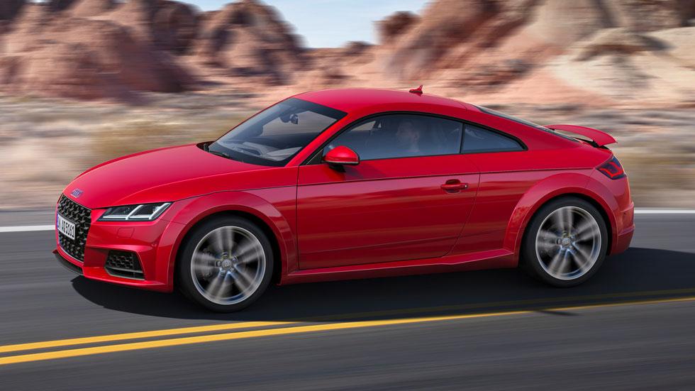Audi TT 2019: datos, fotos y precios oficiales del nuevo deportivo
