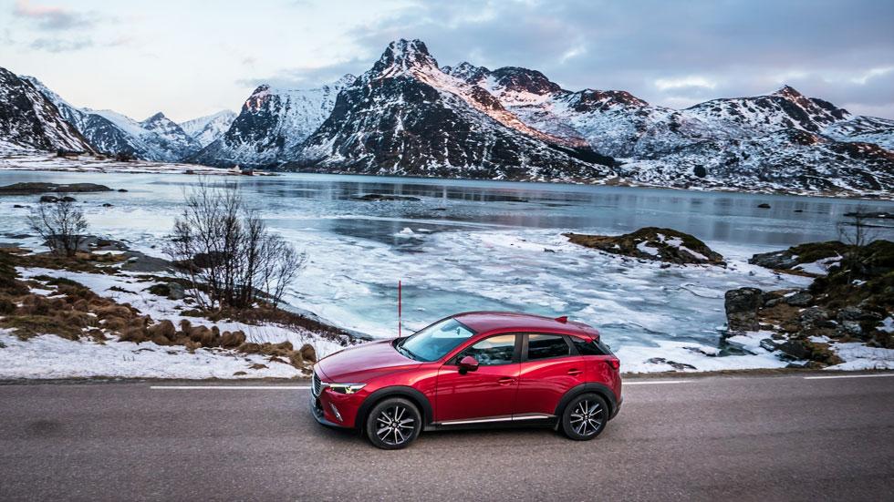 Mazda CX-3 Diesel 1.5 Skyactiv-D 105 CV: lo probamos en las Islas Lofoten