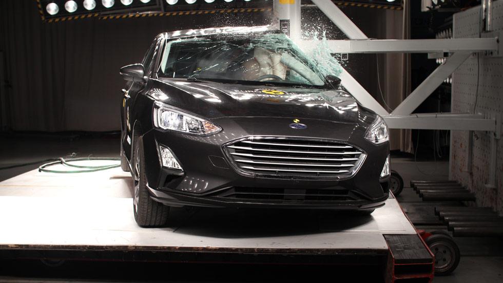 Los nuevos Ford Focus y Volvo XC40, con 5 estrellas de seguridad Euro NCAP