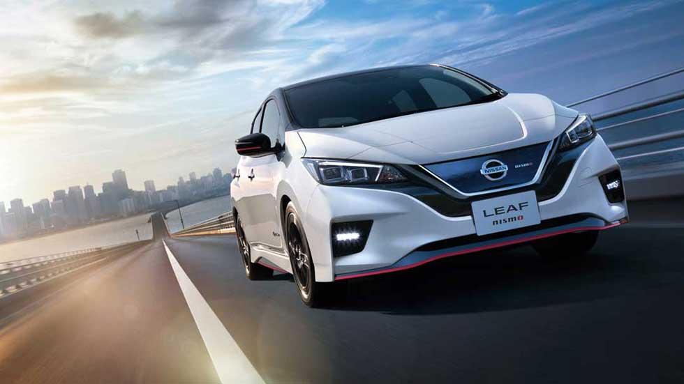 Así es el Nissan Leaf Nismo: un eléctrico con mucha chispa