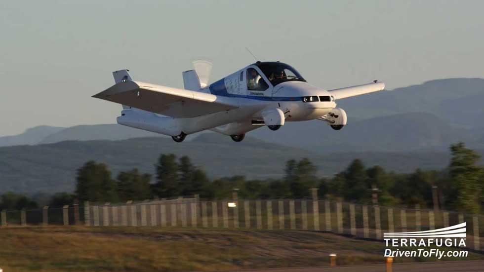 El coche volador de Terrafugia llegará en 2019: más datos y fotos