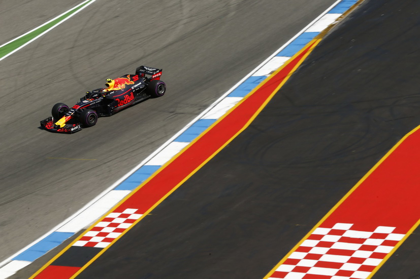 GP de Alemania (FP2): Max Verstappen bate el récord de Hockenheim