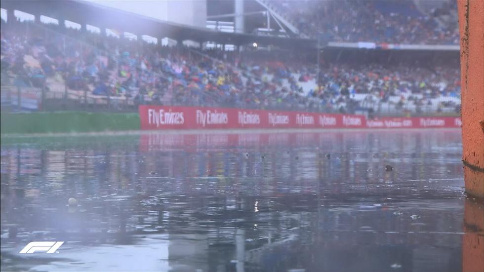 GP de Alemania (FP3): la lluvia, un invitado de excepción