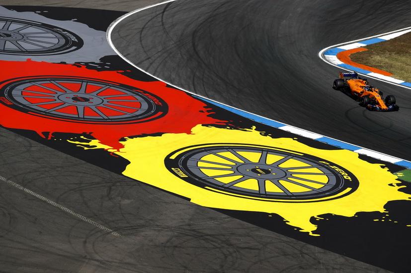 """GP de Alemania: Alonso en la """"pole position del grupo medio"""", undécimo"""