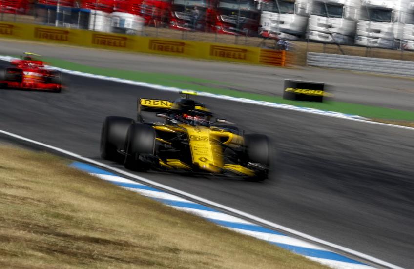 """GP de Alemania: Sainz se """"coló"""" en la Q3 y partirá octavo en parrilla"""