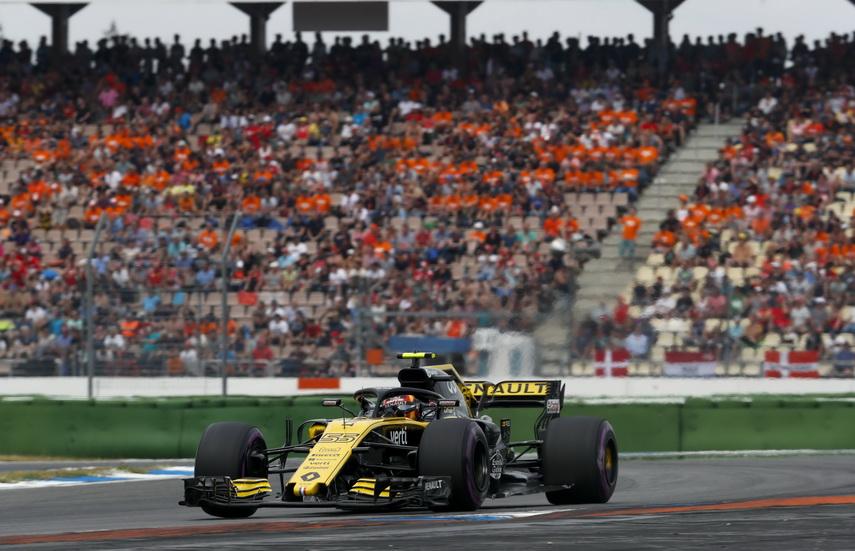 GP de Alemania: Carlos Sainz, sancionado y baja dos posiciones