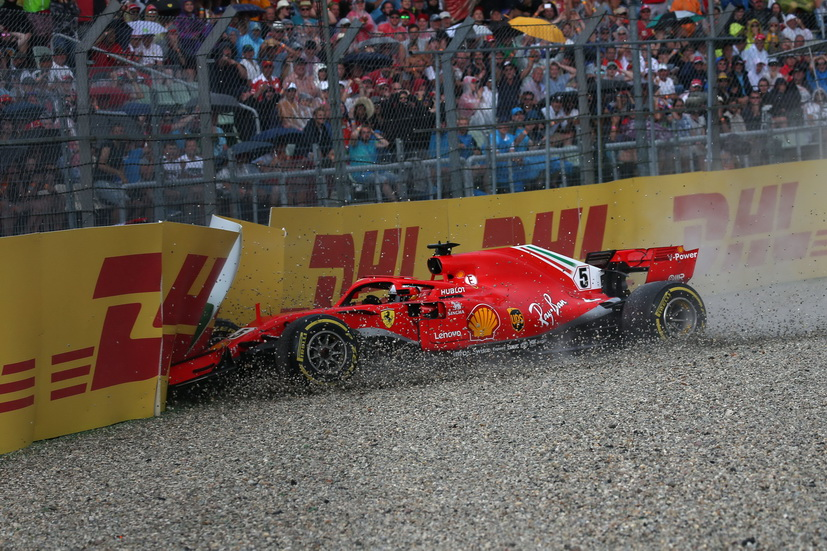 GP de Alemania: un error de Vettel le hace perder el liderato del mundial