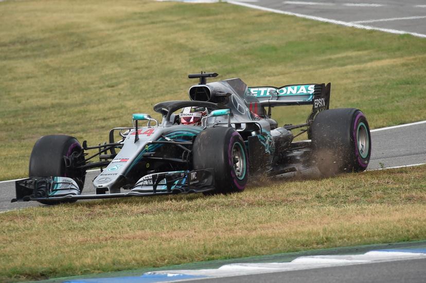 GP de Alemania: Hamilton solo recibió una reprimenda
