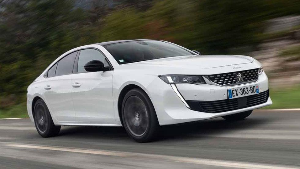 El nuevo Peugeot 508 tendrá en 2019 una súper versión híbrida de 300 CV