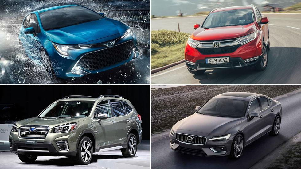 Coches y SUV nuevos que no tendrán Diesel: Auris, RAV4, CR-V, S60, Qashqai...