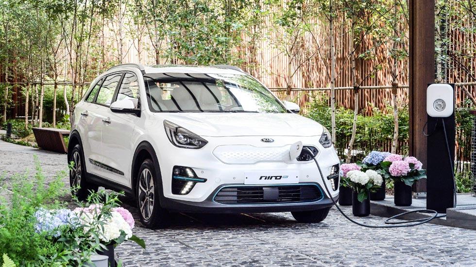 El Kia Niro EV eléctrico, en el Salón de París 2018