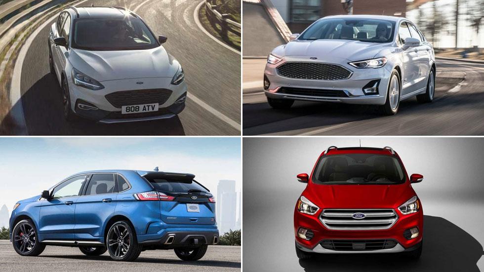 Los coches y SUV nuevos de Ford hasta 2020: Kuga, Mondeo, Mach 1…