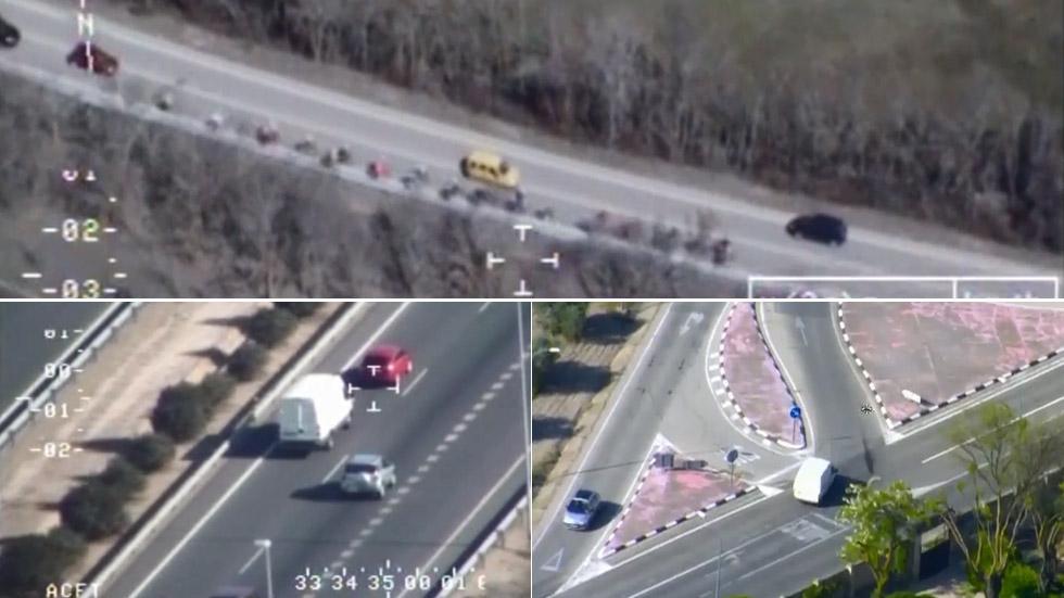 Las mayores imprudencias realizadas por furgonetas, en VÍDEO
