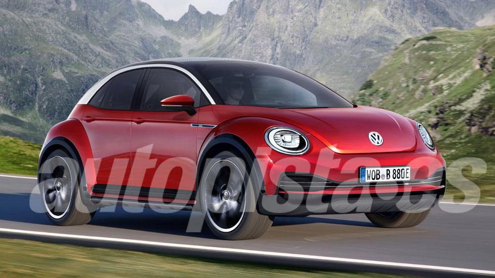 VW Beetle 2022: eléctrico y con carrocería de 5 puertas