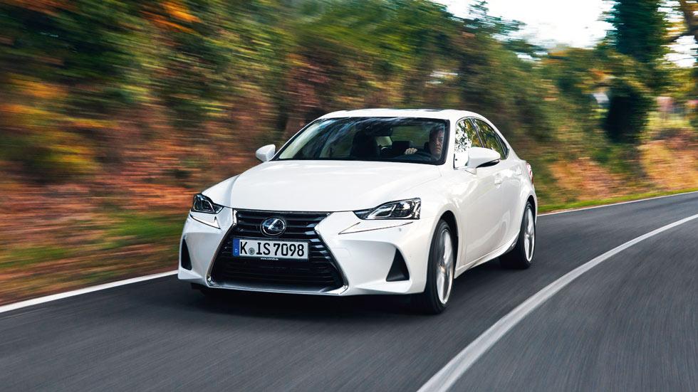 Lexus IS 300h: un híbrido perfecto para estos tiempos