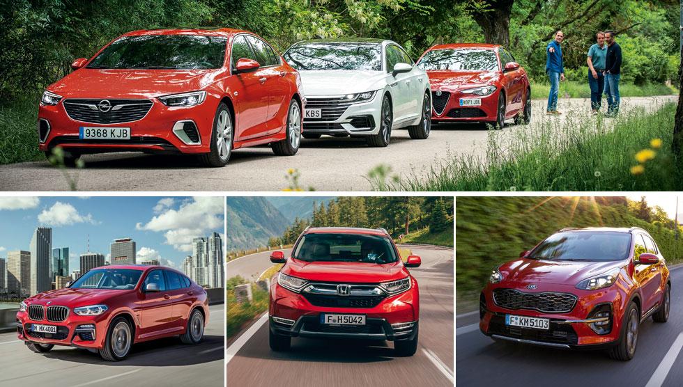 Revista Autopista 3063: Arteon, Insignia, Giulia, Sportage, X4, CR-V… a prueba