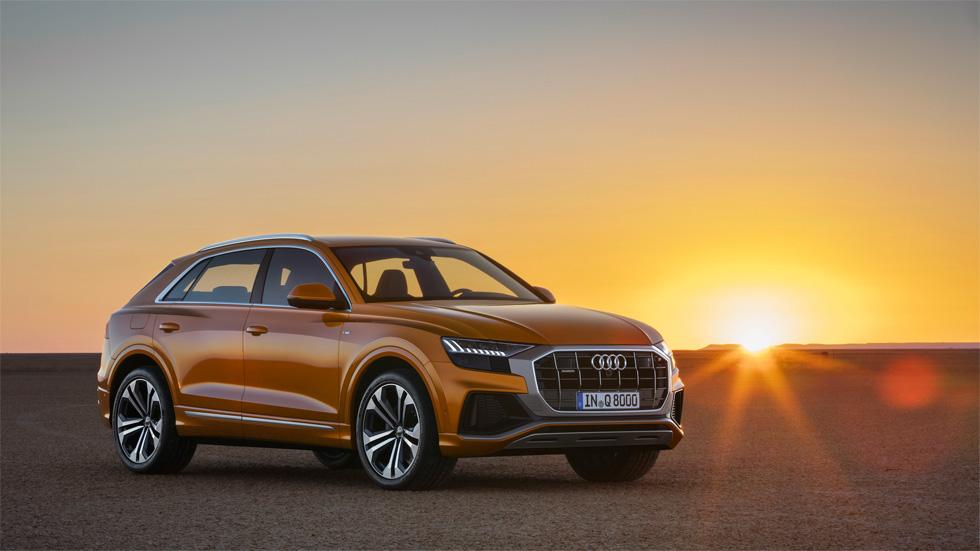 Audi Q8 2018: precio y detalles para España del nuevo SUV