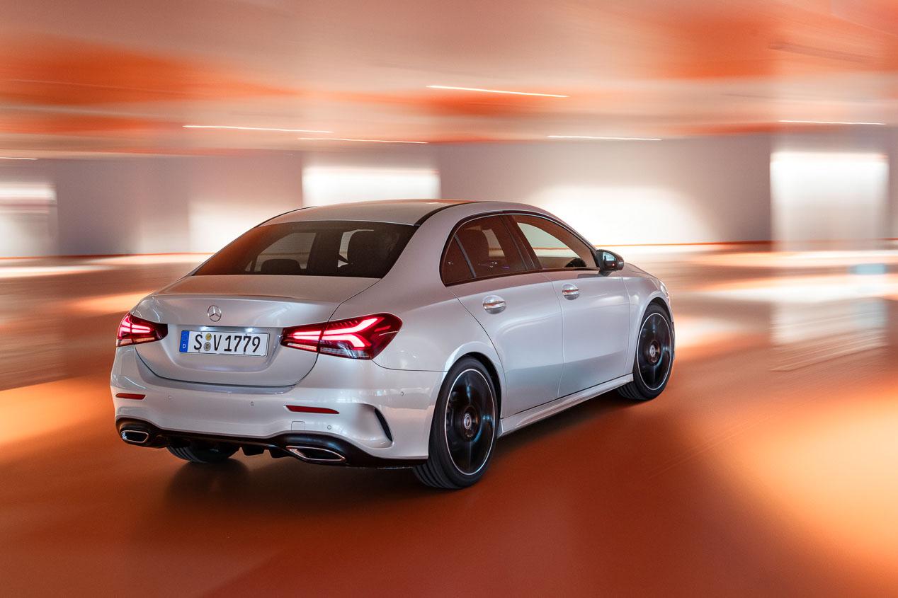 Mercedes Clase A Sedán 2019: todos sus datos y fotos oficiales